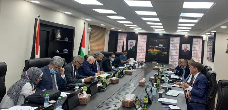 Awect Palestinian authorities meet northern consortium