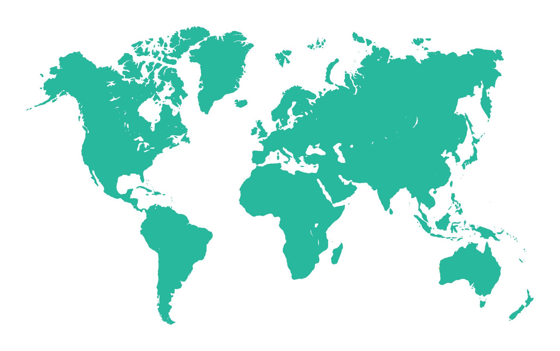Worldmap green